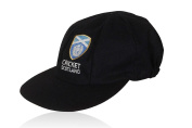 CLASSICAL TRADITIONAL MELTON WOOL BLUE CAP WITH SCOTLAND TEST LOGO SMALL PEAK BAGGY STYLE