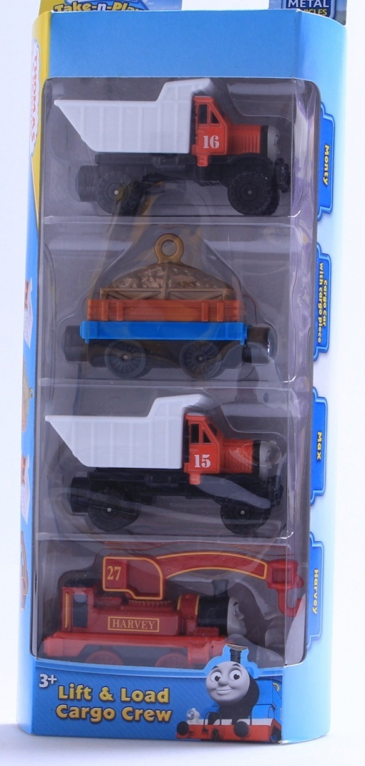 Thomas Friends Take N Play Construction Crew Pack