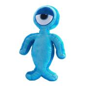 Izziwotnot Blink Childrens Character Bedtime Buddie Cushion, Blue