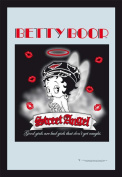 Empire 538543 'Betty Boop Angel' Printed Mirror with Plastic Frame in Wooden Look 20 x 30 cm