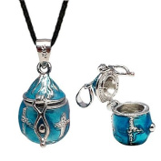 Pandora locket pendant - Poison locket enamel colour - Comes with Japanese silk necklace with silver findings - 42cm with 6.4cm extension so good for 42cm - 48cm - beautifully designed and hand polished to a very high jewellery standard - packed in ..