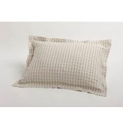Coyuchi Sham Birch Cotton Linen