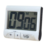 Sanwood LCD Digital Kitchen Timer Count-down Clock Alarm