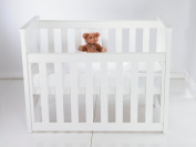 HIGH QUALITY WATER PROOF TERRY TOWEL COT BED MATTRESS PROTECTOR