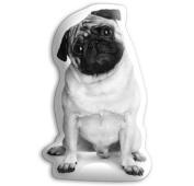 PUG CUTE DOG SHAPED CUSION 57cm X 35cm