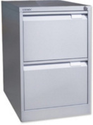 Bisley 1623-at1-801 711x470x622mm BS2E Foolscap Flush Front Filing Cabinet with 2 Drawers - Goose Grey