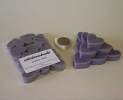 WHICKSNWHACKS 10 HEART Shaped BEDTIME BATH Ecosoy Wax Melts for your Oil Burner