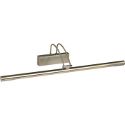 THLC Modern Antique Brass Finish Slimline Low Energy Picture Wall Light