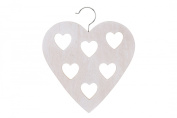 Shabby Chic Wooden Scarf Scarves Hanger Wardrobe Hanger Hearts