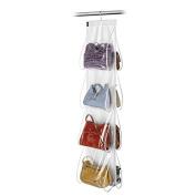 Domopak Living 8 Pocket Hanging Handbag Organiser