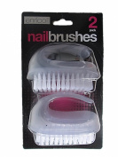 Enrico Pack Of 2 Nail Brushes With Handles