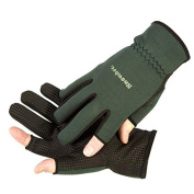 Snowbee Light weight Neoprene Fishing or Shooting Gloves