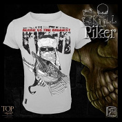 Hotspot Design T-Shirt Piker, Skull Collection, Pike Angler short sleeve shirt