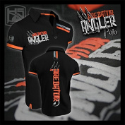 "Hotspot Design Poloshirt ""Predator"", black, Angler Polo shirt"