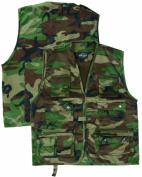 Mil-Tec Hunting and Fishing Vest black