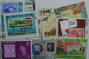 Stamps on Stamps. 25 stamps, all different.
