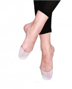 Cerkos Gel Toe Caps Covers Soft Pads Cushions Protectors Which Provides Immediate Pain and Pressure Relief, Cushioning Protection and Help to Create the Ideal Massaging Conditions for All Uncomfortable Foot