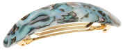 France Luxe Oval Volume Barrette - South Sea