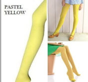 Yellow Coloured Stockings - 1 pair