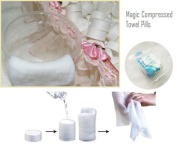 50x Disposable Magic Compressed Towels