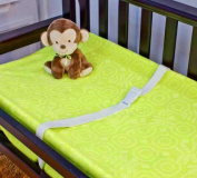 Nurture Imagination Changing Pad Cover, Swing/Green
