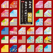 Pack of 120 Sheets Japanese 15cm Origami Double-Sided Chiyogami Artwork Folding Papers