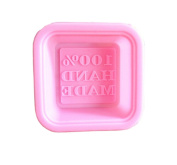 Olyer Soap Moulds - 100% Handmade Square Silicon