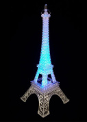 25cm Eiffel Tower Centrepiece with LED Light