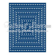 Tattered Lace Best Decorative Edge Rectangles Cutting Die ETL12
