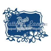 Tattered Lace Best Wishes Starlight Plaque Cutting Die D589