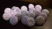 Scrapbooking Volleyball Brads - Set of 20