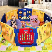 Giantex 8 Panel Play Centre Safety Yard Pen Baby Kids Playpen Model
