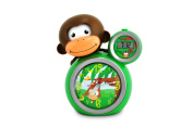 Momo Sleep Trainer - Alarm clock and 30 second night light - Teach your child how to know when it is time for bed - Green