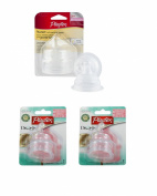 6 Playtex Drop Ins Medium Flow Silicone Nipples Baby 3m+ 3 months + BPA FREE