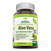 Herbal Secrets Aloe Vera 120 Softgels 5000 Mg