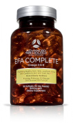 EFA COMPLETE with optimal levels of High Potency Flax Oil, Fish Oil, Borage Oil, and Evening Primrose Oil 800mgs (90count).