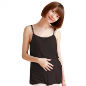 Doinshop Fashion Pregnant Breastfeeding Tops Tank Maternity Nursing Camisole Skirt
