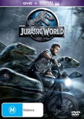 Jurassic World (DVD/UV)