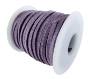 Springfield Leather Company 0.2cm x 15m Soft Suede Lilac Leather Lace