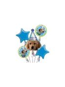 Mayflower BB021470 Puppy Party Mylar Balloon Bouquet