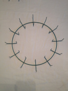 30cm Wreath Form, 30cm Wire Wreath Frame, Live Wreath Frame, Heavy Duty Wreath Frame