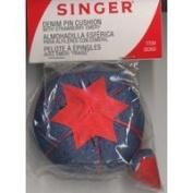 Singer Denim Pin Cushion- 1 Each