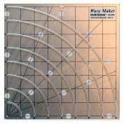 Duroedge Wavy Maker - Shape Cut, Slitted Non-Slip Ruler 20cm X 20cm