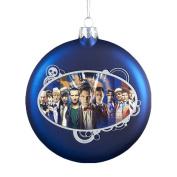 Doctor Who Kurt Adler Dr. Who Glass Disc Ornament, 100mm