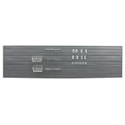 Proslat 33509 Ultimate Slat Wall Bundle with Slat Wall Panels, Hook Kit, Shelf and Basket Kit, Charcoal