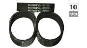 Kirby Vacuum Cleaner Belts 301291-3 (10 pack) fits all Generation series models G3, G4, G5, G6, G7, Ultimate G, and Diamond Edition