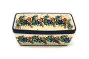 Polish Pottery Baker - Loaf Dish - Garden Party