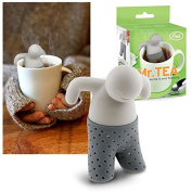 Fred Mr. Tea Infuser Loose Leaf Silicone Strainer Herbal Spice Filter Diffuser