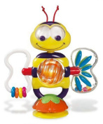 Munchkin Bobble Bee Suction Baby Colourful Mini Around Beads Educational Game Toy Baby & Toddler Toys _ Activity Play Centres- 1pcs