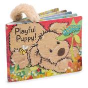 Jellycat Board Books, Playful Puppy Book - 15cm